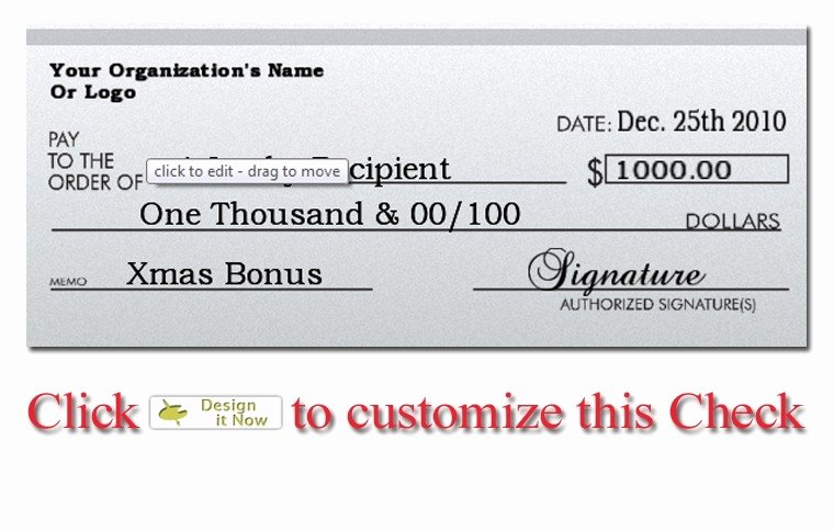 Oversized Check Template Free Inspirational Big Check Template Free Download