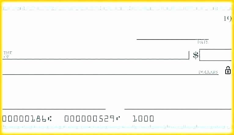 Oversized Check Template Free Luxury Big Cheque Template