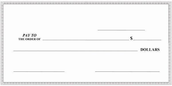 Oversized Check Template Free New Big Checks Presentation Checks