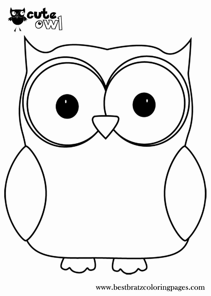 Owl Cut Out Template Elegant Best 25 Owl Templates Ideas On Pinterest