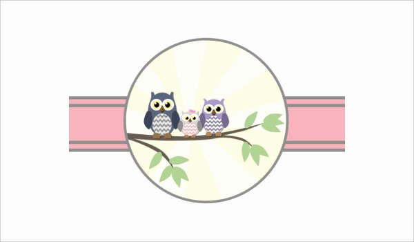 Owl Template for Baby Shower Beautiful Free Baby Shower Printables 9 Free Psd Vector Ai Eps