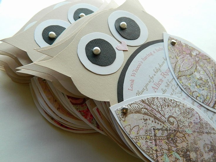 Owl Template for Baby Shower Beautiful top 10 Creative Diy Baby Shower Invitation Ideas