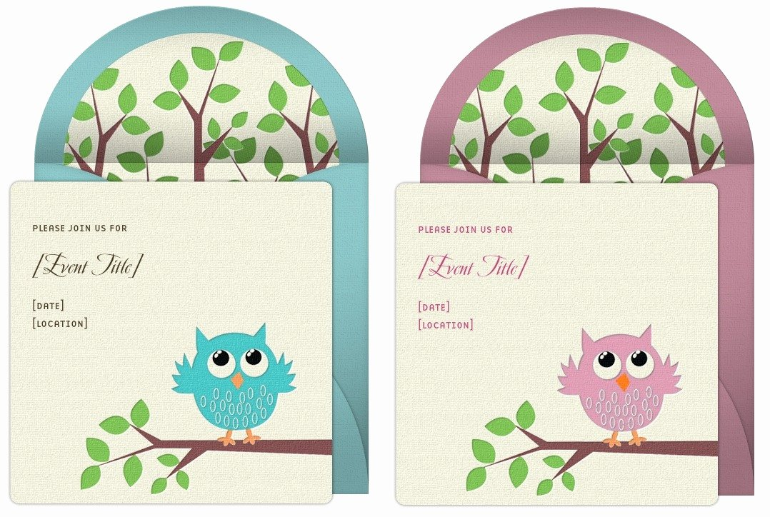 Owl Template for Baby Shower Best Of Owl Baby Shower Ideas Punchbowl