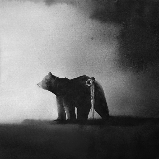 Paintings Black and White Elegant touching Black and White Paintings by Elicia Edijanto Bleaq