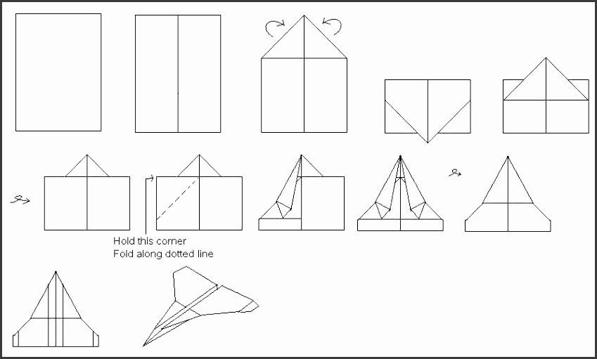 Paper Airplane Template Beautiful 8 Paper Airplanes Templates Sampletemplatess