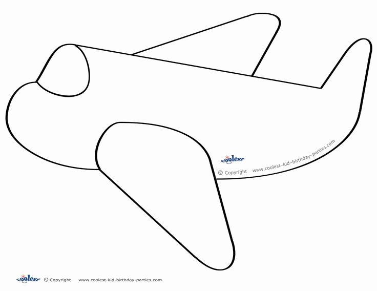 Paper Airplane Template Luxury 79 Best Images About Airplane Birthday Printables On