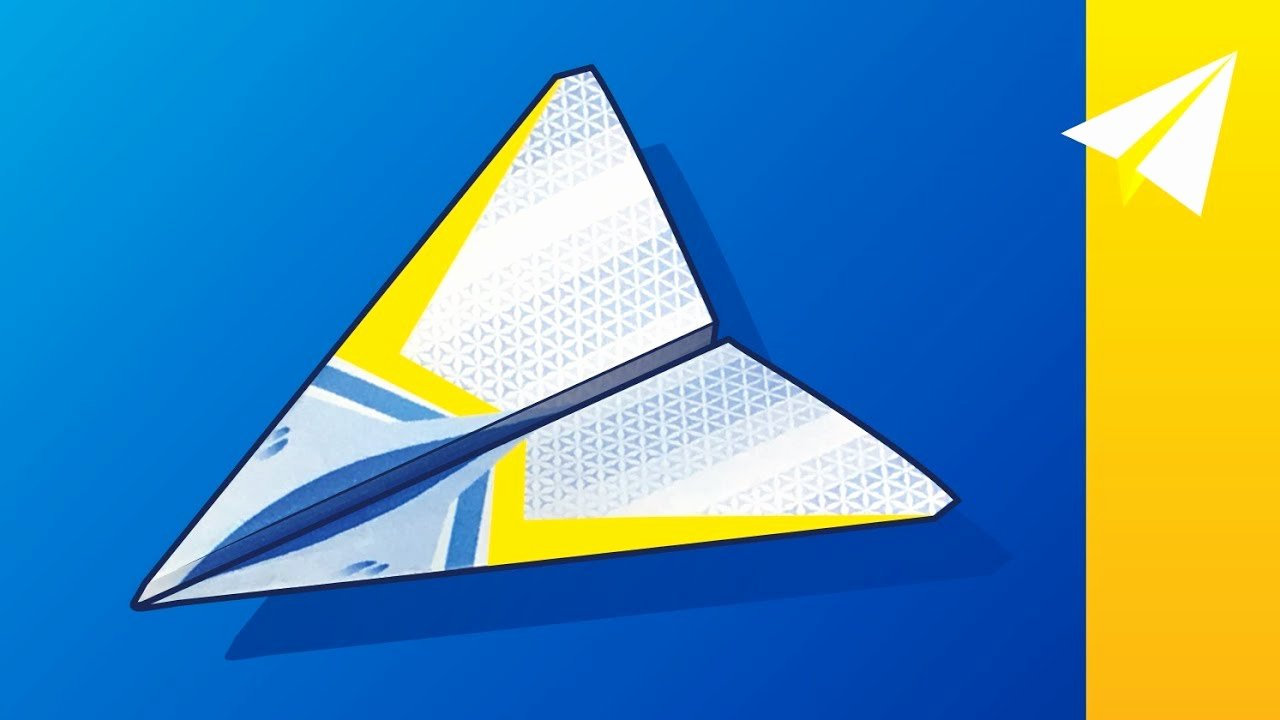Paper Airplane Template New Paper Airplane with Free Template — How to Fold Stratus