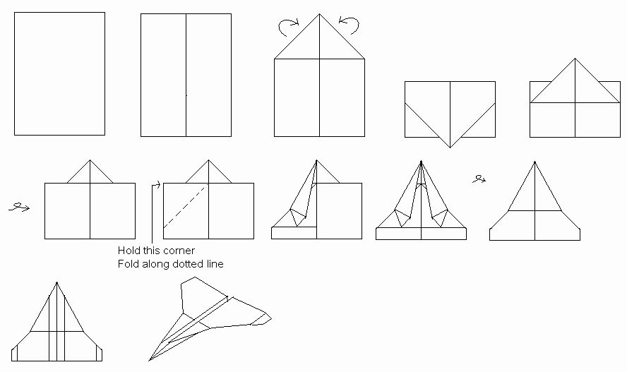 Paper Airplane Template Unique Paper Airplane Templates