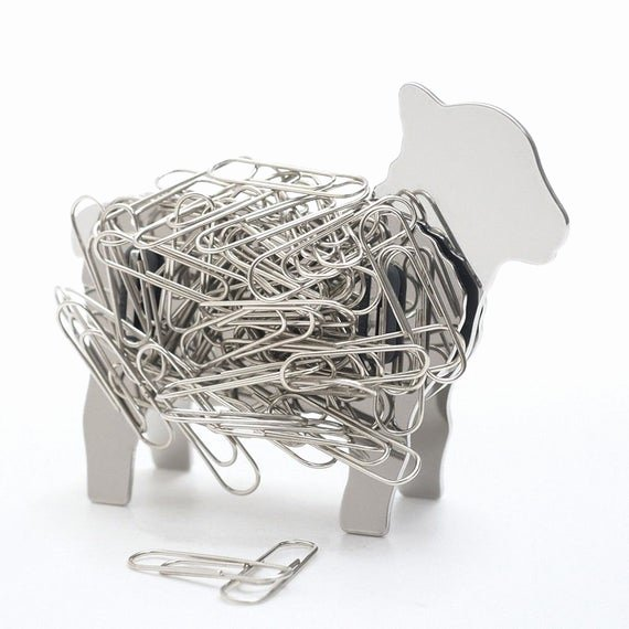 Paper Clip Holder Magnetic Best Of Lamb Design Desk top Stainless Steel Magnet Paper Clip Holder