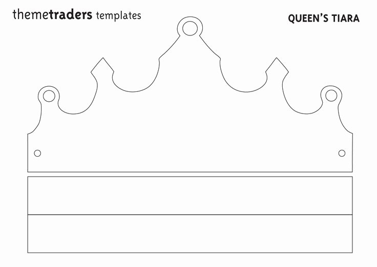 Paper Crown Cut Outs Awesome Make Your Own Party Decorations Tiara