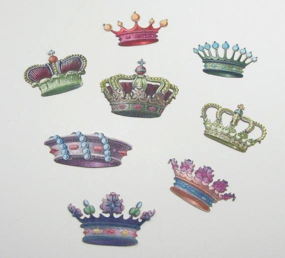 Paper Crown Cut Outs Beautiful 8 Colorful and Detailed Paper Cut Out Crowns by Dminortheory