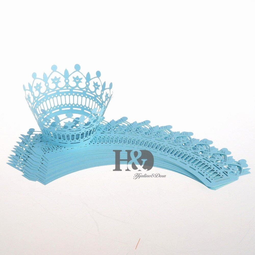 Paper Crown Cut Outs Best Of Aliexpress Buy Sky Blue 120pcs Hollow Laser Cut