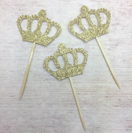 Paper Crown Cut Outs Best Of Gold Cut Out Crown Cupcake Pic Paper 12pc Christines Molds