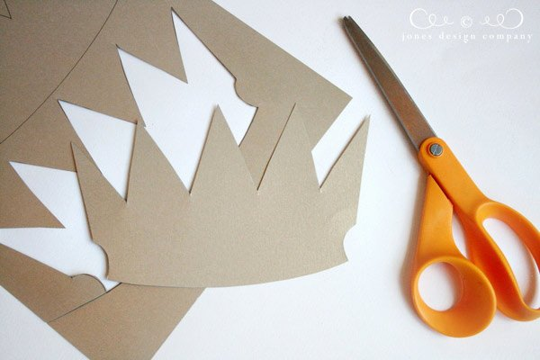 Paper Crown Cut Outs Best Of Paper Crowns Tutorial