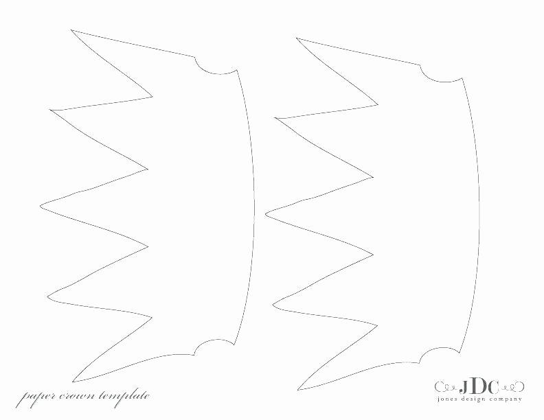 Paper Crown Cut Outs Elegant Cardboard Crown Template – Naomijorge