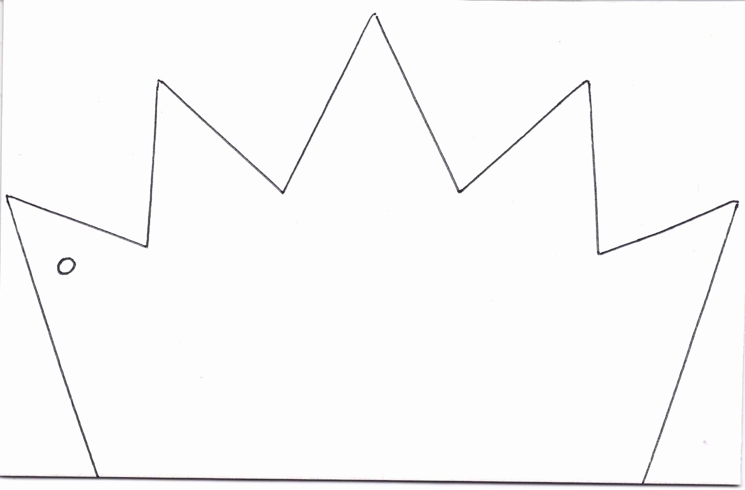 Paper Crown Cut Outs Elegant Kings Crown Template Clipart Best