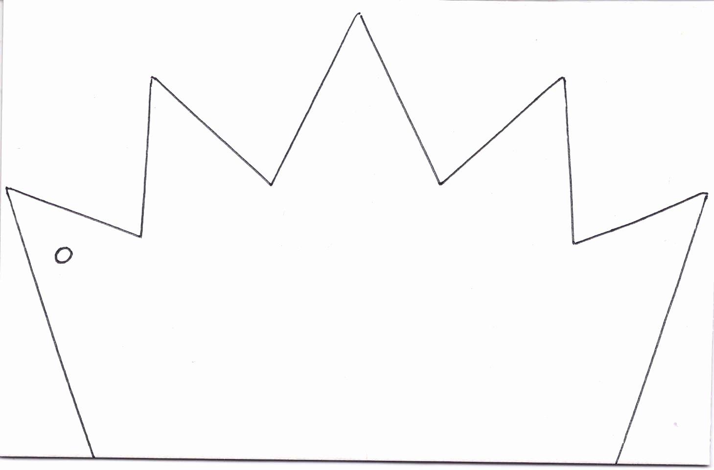 Paper Crown Cut Outs Elegant Kings Crown Template Clipart Best
