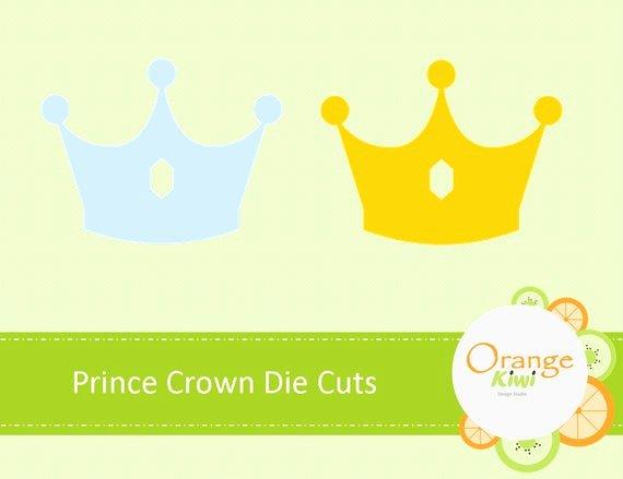 Paper Crown Cut Outs Fresh Prince Crown Die Cuts Crown Paper Cut Out Little Prince