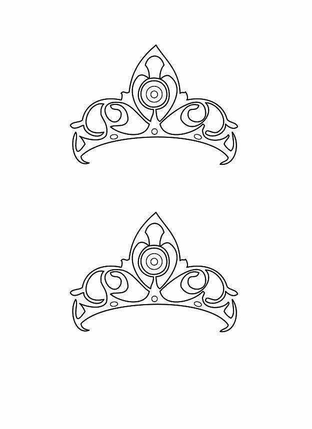 Paper Crown Cut Outs Unique 45 Free Paper Crown Templates Template Lab