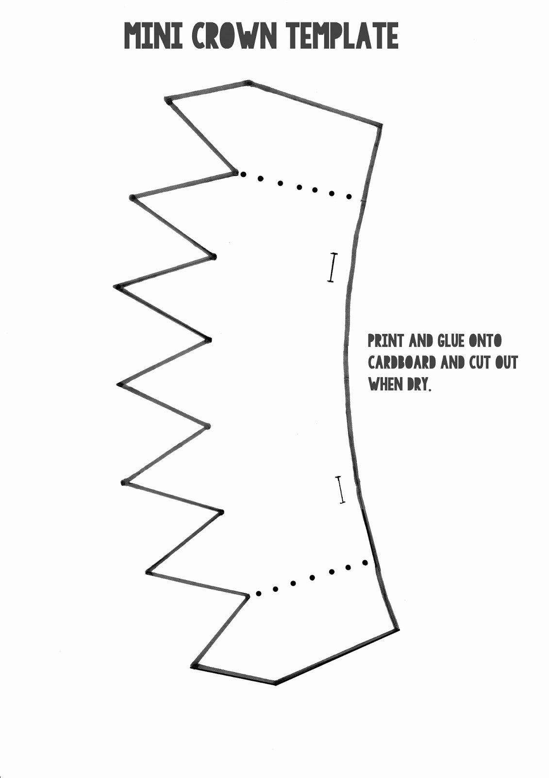 Paper Crown Cut Outs Unique Maker Land Flat Pack Fairy Headwear Tutorial