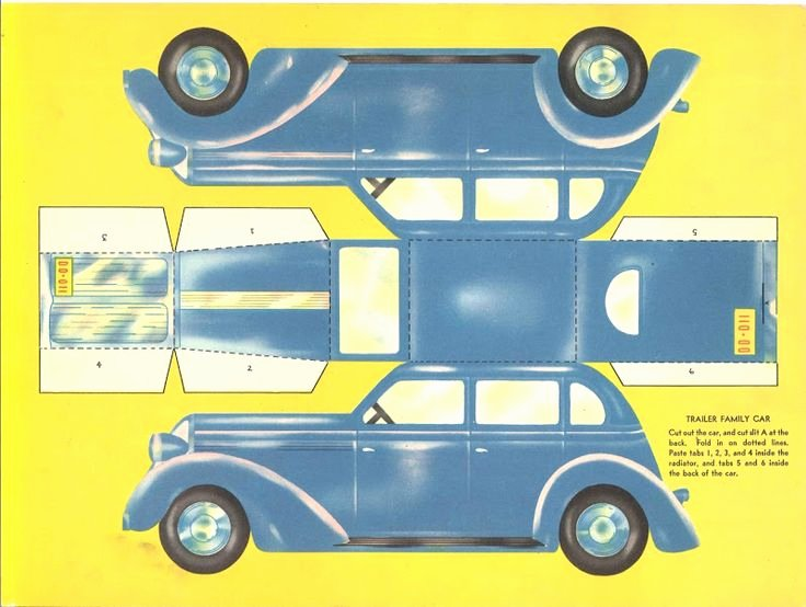 Paper Cut Out Cars Beautiful 29 Of Paper toy Template Cars