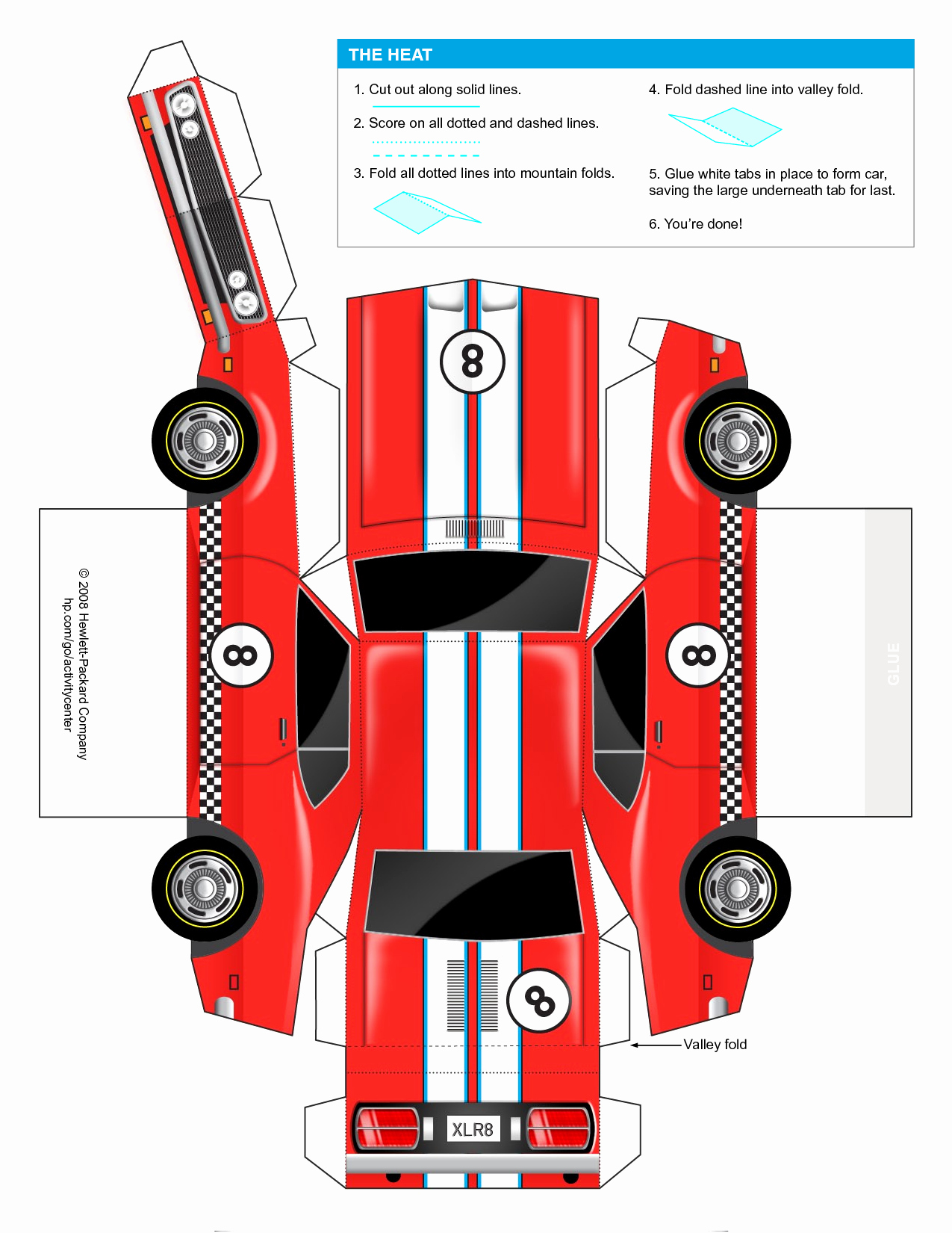 Paper Cut Out Cars Beautiful Car Cut Out Template for Kids Google Search