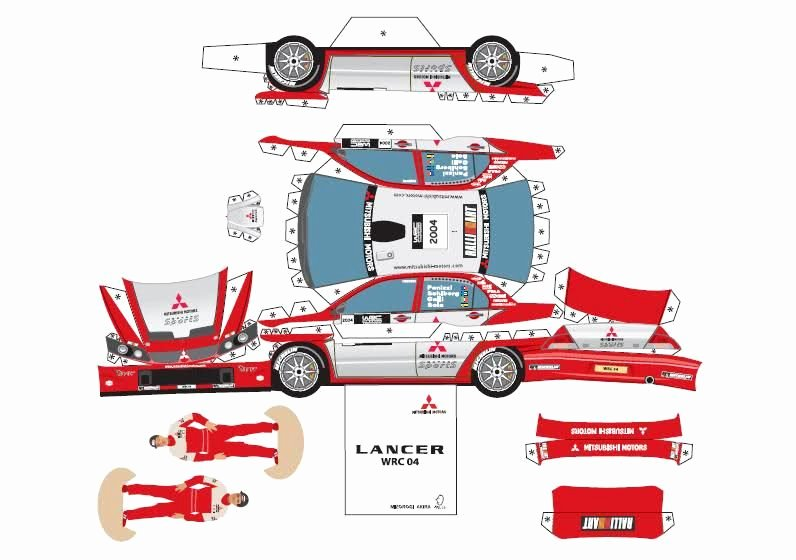 Paper Cut Out Cars Luxury You then Cut Out the Model Fold It Accordingly and Glue