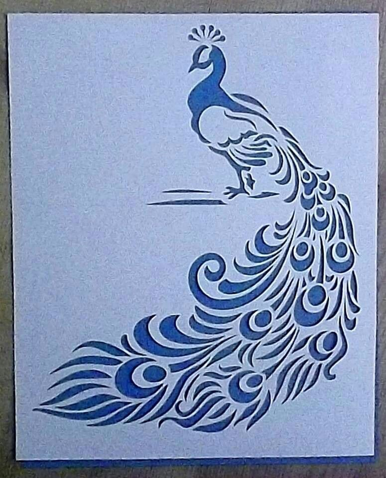 Paper Cutting Art Templates Awesome Paper Cut Peacock …