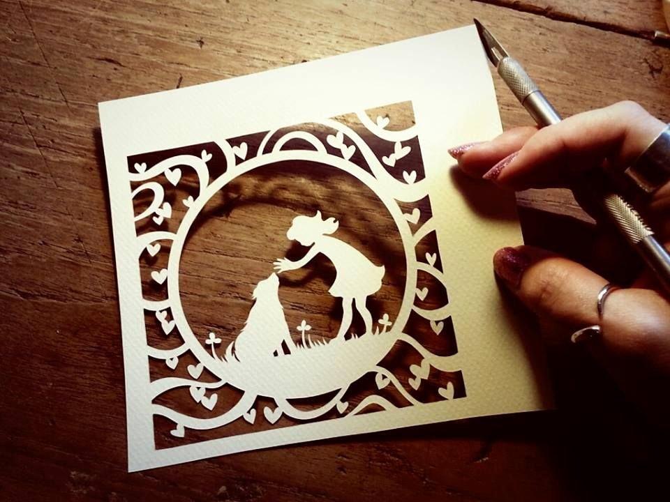 Paper Cutting Art Templates Beautiful Paper Cutting Design Paper Cut