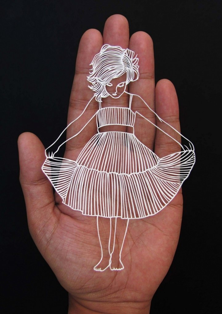 Paper Cutting Art Templates Elegant A Paper Cut that Looks Like A Piece Of Whimsical