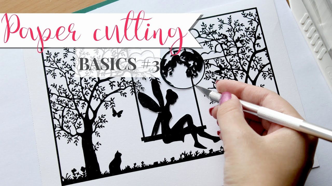 Paper Cutting Art Templates Elegant Paper Cutting Basics 3