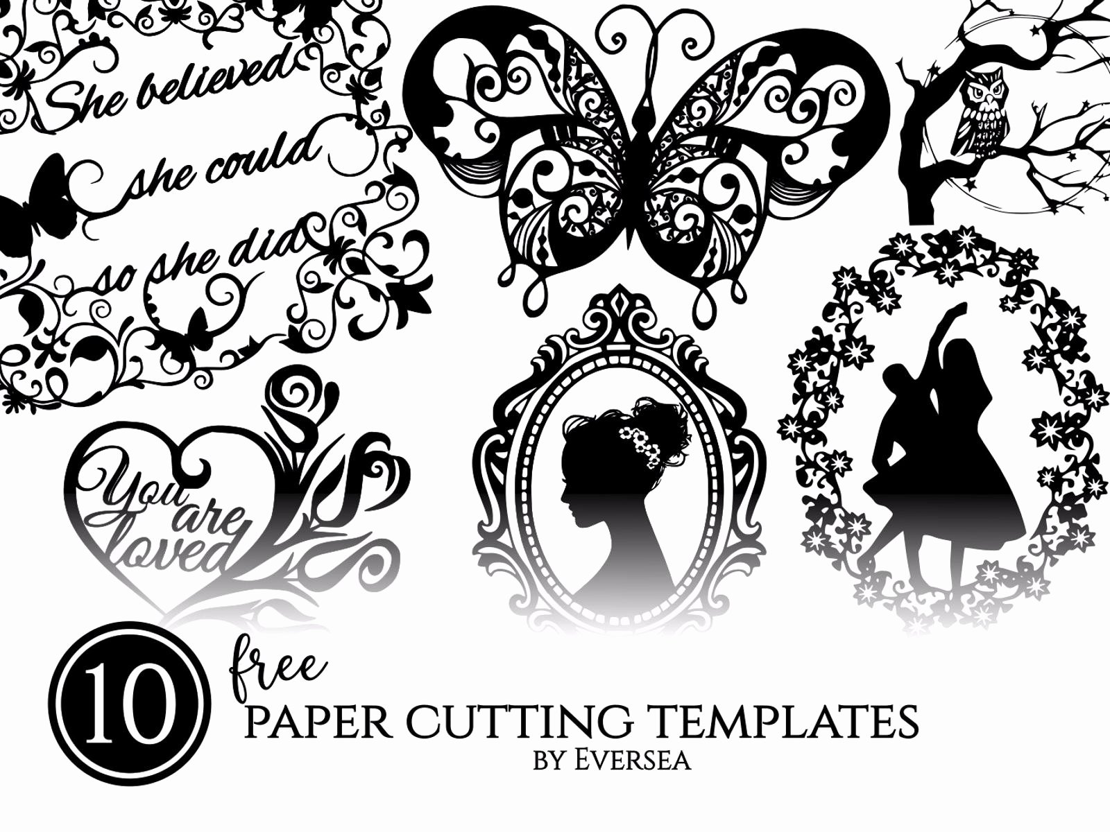 free project 10 free paper cutting templates printable