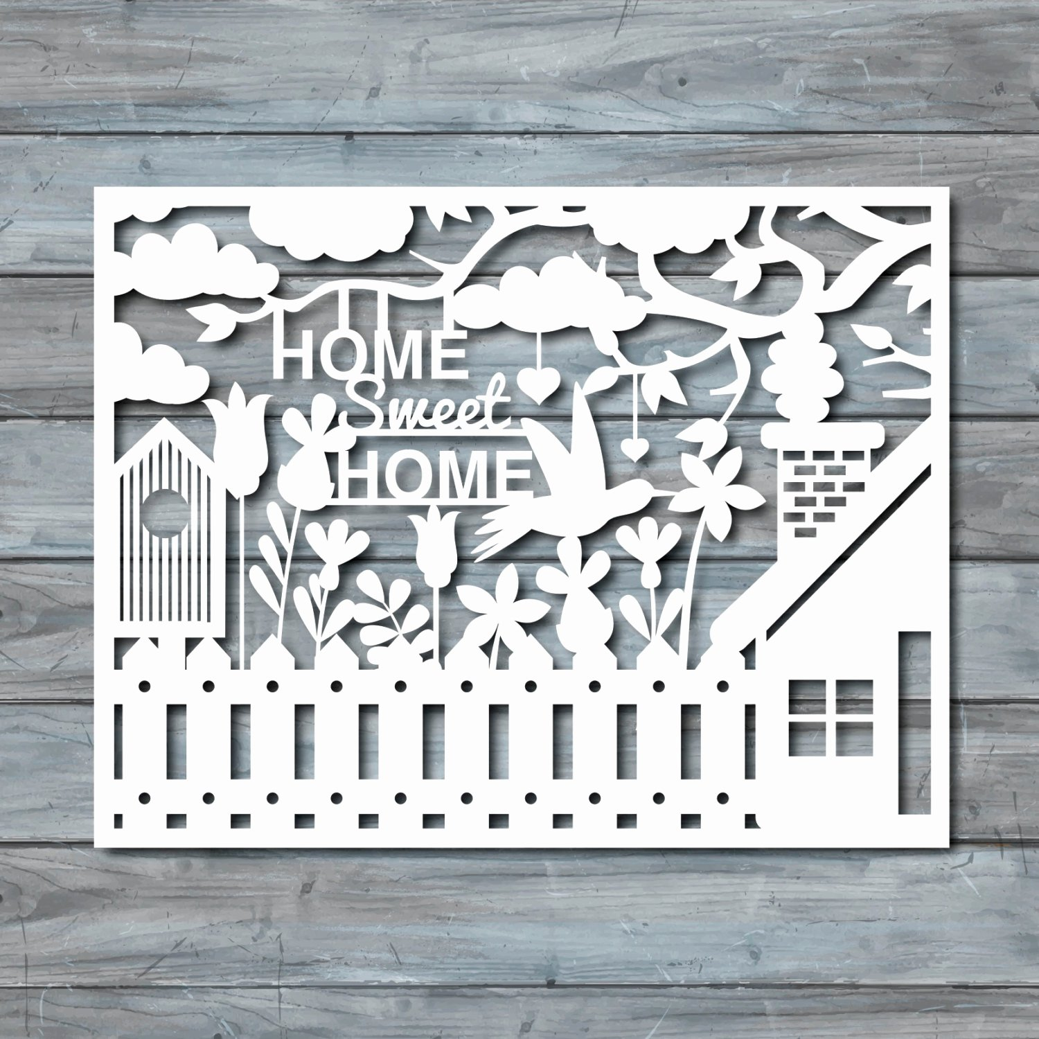 Paper Cutting Designs Template Awesome Home Sweet Home Paper Cut Template Pdf Printable by Zavyanne8