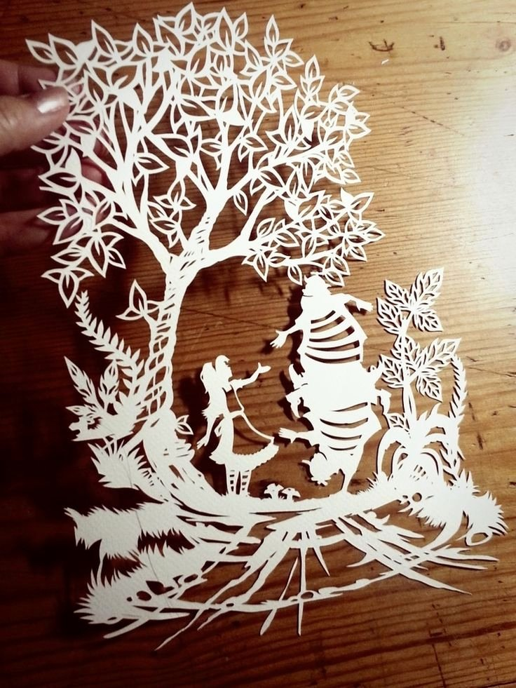 Paper Cutting Designs Template Best Of 17 Best Images About Fairy Tale Cut Outs On Pinterest