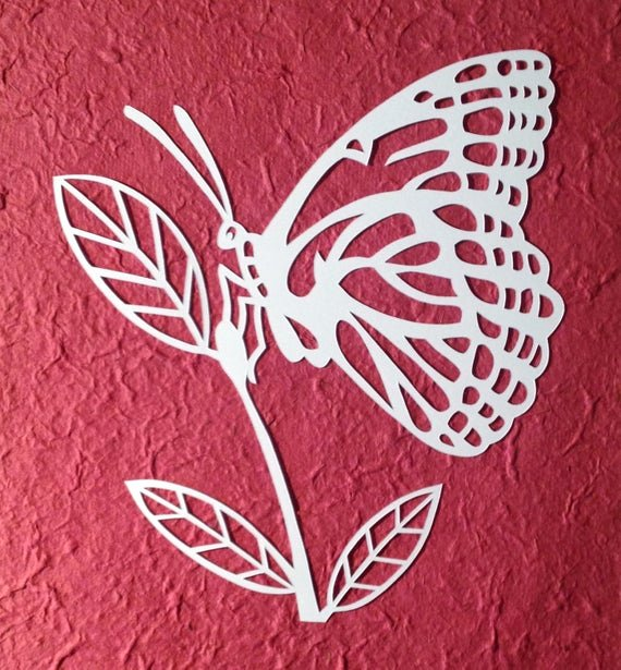 Paper Cutting Designs Template Luxury Template butterfly Paper Cut Personal Use by Loveleelaart