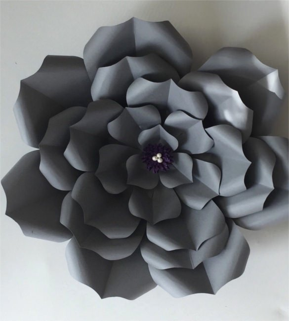 Paper Flower Pattern Printable Awesome Paper Flower Templates