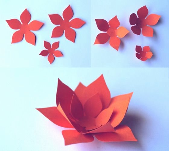 Paper Flower Pattern Printable Luxury Beautiful Decorations for Celebrations and Fiestas