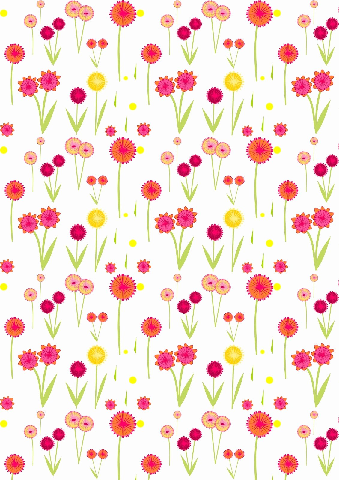 Paper Flower Pattern Printable Luxury Free Digital Flower Scrapbooking Paper Ausdruckbares