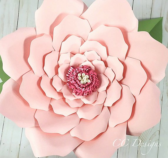 Paper Flower Pattern Printable New Printable Paper Flower Templates Giant Flower Templates