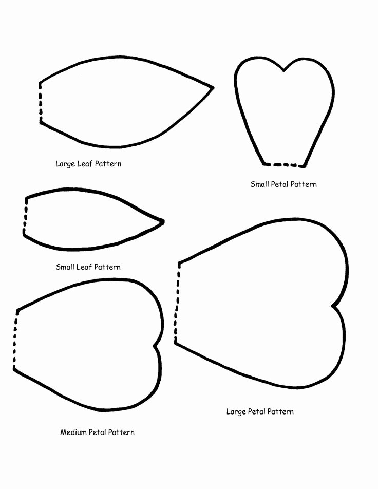 Paper Flower Petals Template Awesome Best 25 Flower Petal Template Ideas On Pinterest