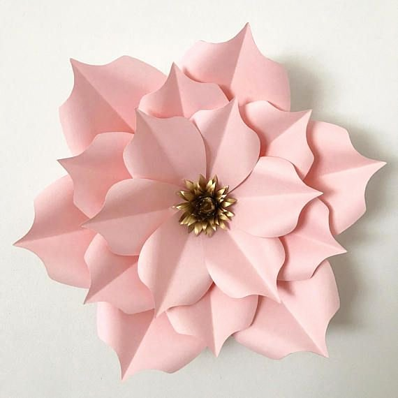 Paper Flower Templates to Print Beautiful Pin On Paper Flowers