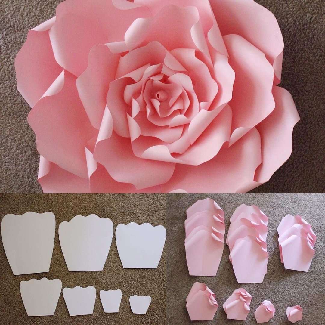 Paper Flower Templates to Print Elegant Here are the Templates that are Used to Make A Beautiful