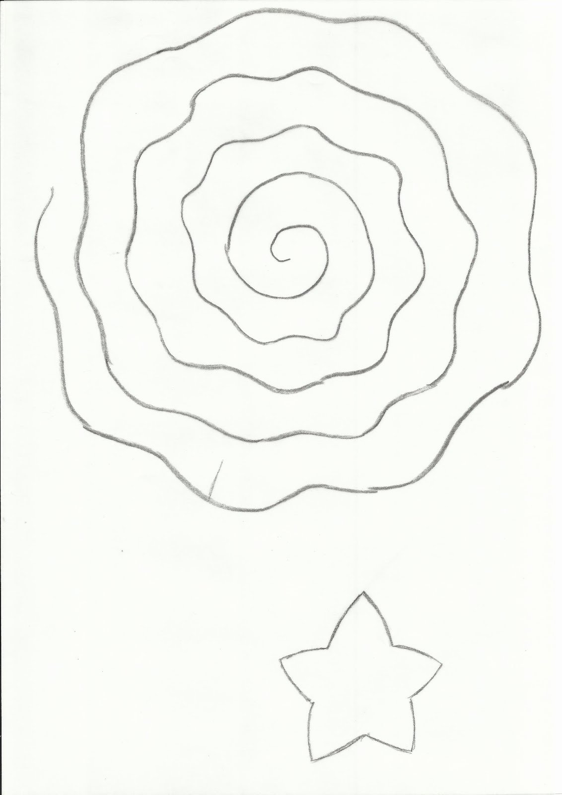 Paper Flower Templates to Print Elegant Shabby Rolled Spiral Flower Tutorial Lots Of Photos