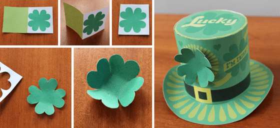 Paper top Hat Template Best Of St Patricks Day Mini tops Hat Print Make as Many as You