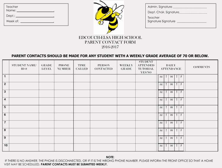 Parent Contact Log Awesome Printable Parent Contact Log Sheet Templates Excel Word