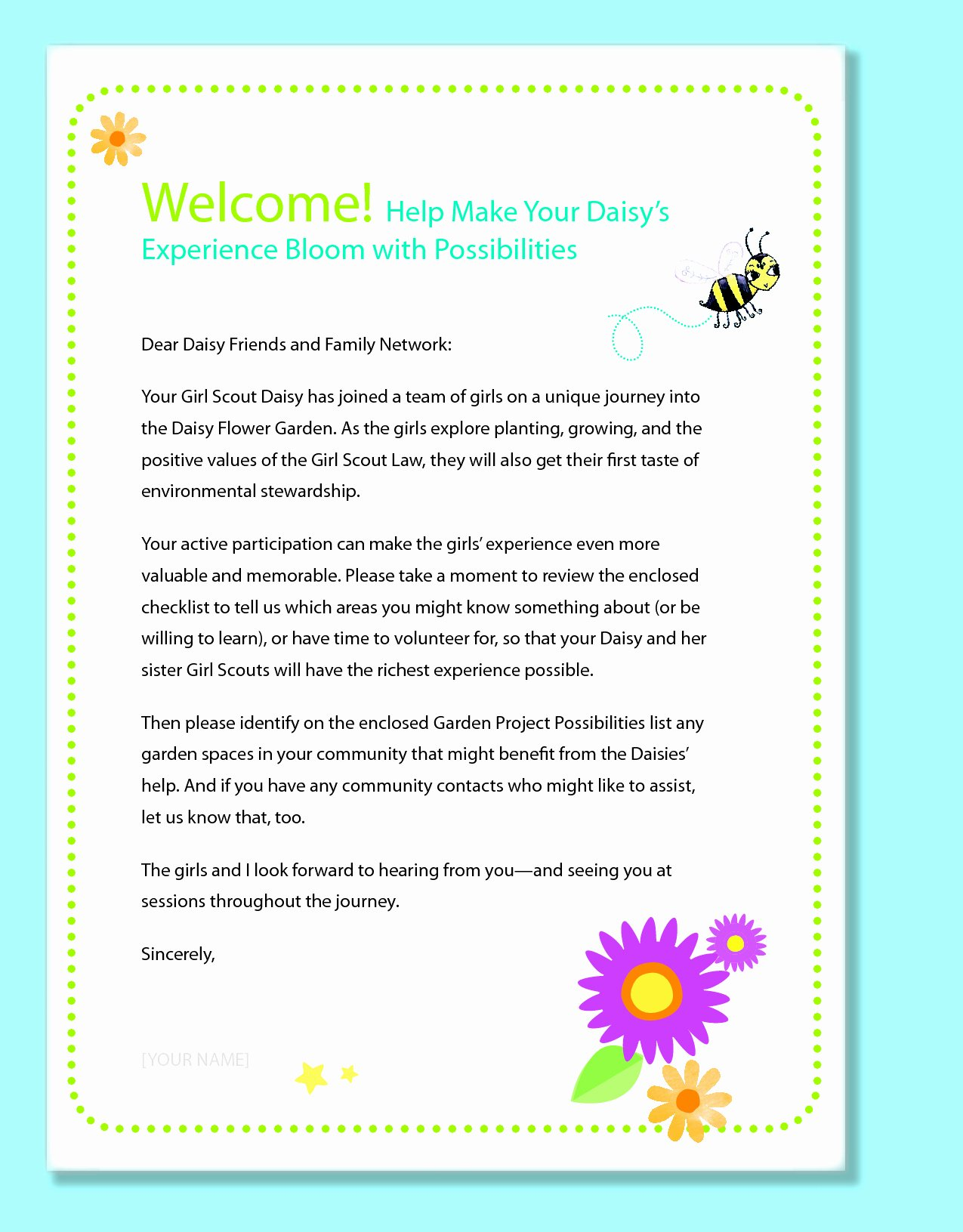 Parent Letter From Teacher Template Awesome Preschool Wel E Letter to Parents From Teacher Template