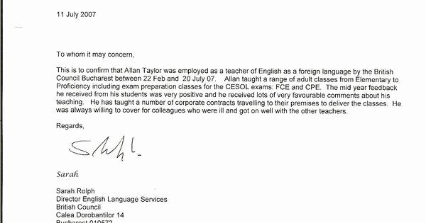 Parent Letter Of Recommendation New Re Mendation Letter Sample for Teacher From Parent