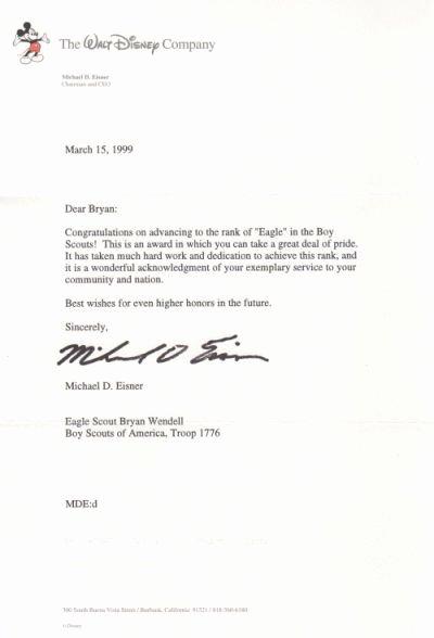 Parent Letter Of Recommendation Unique Eagle Scout Parent Letter Re Mendation