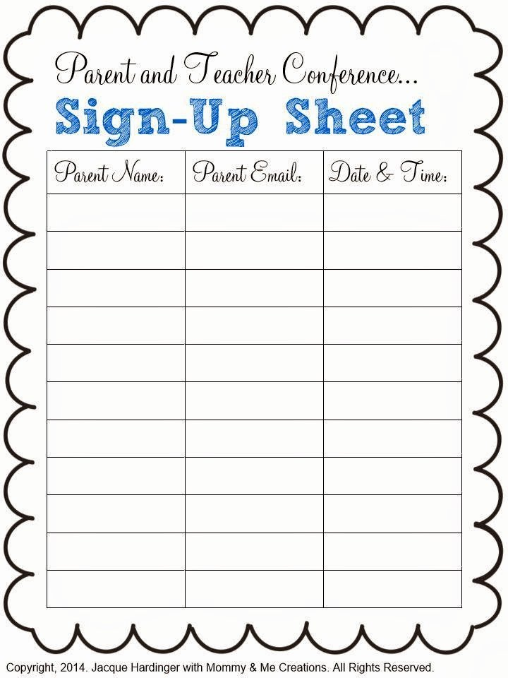 Parent Teacher Conference Sheet Awesome Spark Of Inspiration Parent and Teacher Conference Freebie