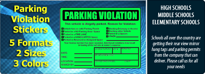 Parking Warning Notice Template Best Of Parking Violations Stickers – Custom Illegally Parked
